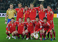 Fotball<br /> Tyskland v Russland<br /> Foto: Witters/Digitalsport<br /> NORWAY ONLY<br /> <br /> 11.10.2008<br /> <br /> Fussball WM Qualifikation Deutschland - Russland 2:1<br /> <br /> Lagbilde Russland