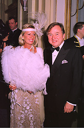 SIR ANTHONY & LADY BAMFORD at a party in London on 27th January 1998.<br /> MEW 47