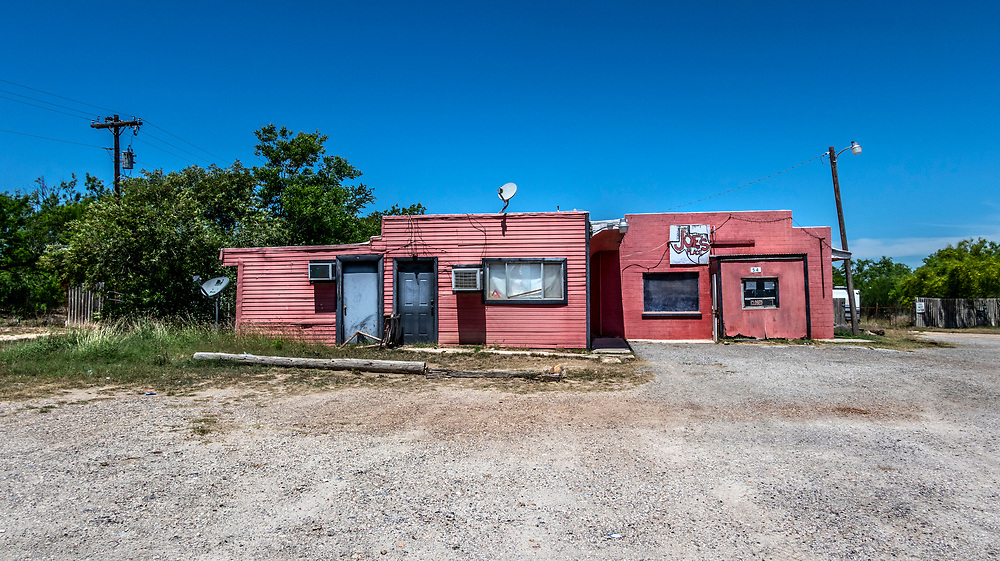 Joe's place, Near Carrizo Springs, abandoned, Texas