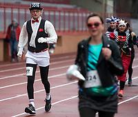 Bialystok, 30.12.2018. 35. Bieg Sylwestrowy na stadionie lekkoatletycznym fot Michal Kosc / AGENCJA WSCHOD