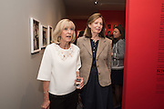 DIANA DONOVAN; LUCY COUNTESS OF SNOWDON/ Lucy Mary Lindsay-Hogg ( PREVIOUSLY MARRIED TO LORD SNOWDON ) Preview of Terence Donovan: Speed of Light, Photographers Gallery, Ramillies Place, Thursday 14 July 2016,