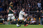 Twickenham, United Kingdom, Saturday, 3rd November 2018, RFU, Rugby, Stadium, England,   Elliot DALY, attacking, during the Quilter, Autumn International, England vs South Africa, © Peter Spurrier