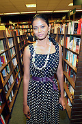 """Grace Anezia Ali at the reading of ' Letters from Black America """" A Dramatic Reading with Editor Pamela Newkirk and actors Ruby Dee and Anthony Chisholm held at Barnes & Noble at 82nd Street on July 15, 2009 in New York City"""