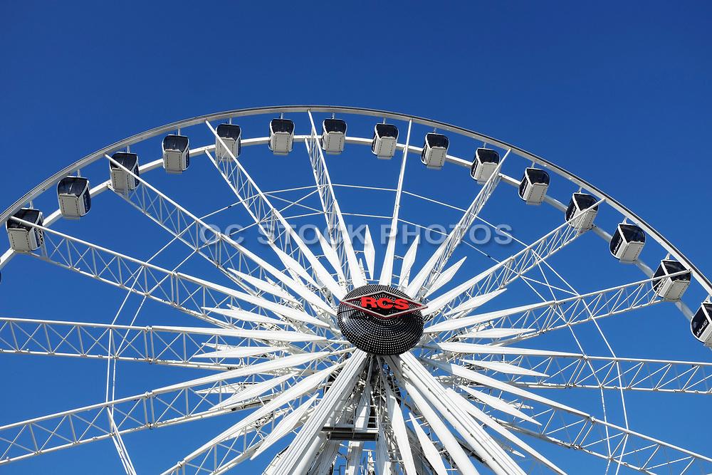 Ferris Wheel Ride Closeup at the Orange County Fair