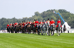 The royal carriages during day one of Royal Ascot at Ascot Racecourse.
