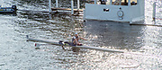 Henley-On-Thames, Berkshire, UK.,Saturday, 14.08.21,    Heat of the Princes Royal Challenge Cup,  l HENRY, Leicester Rowing Club, 2021 Henley Royal Regatta, Henley Reach, River Thames, Thames Valley,  [Mandatory Credit © Peter Spurrier/Intersport Images],