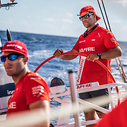 Leg 8 from Itajai to Newport, day 04 on board MAPFRE, Pablo Arrarte steering. 25 April, 2018.