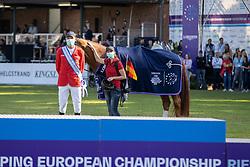 Thieme Andre, GER<br /> European Championship Riesenbeck 2021<br /> © Hippo Foto - Dirk Caremans<br /> 05/09/2021