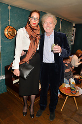 VANESSA ARELLE Head of Cultural Affairs Emabassy of Mexico and MATTHEW HORTON at the launch of Thomasina Miers's new book Chilli Notes held at Wahaca, 19-23 Charlotte Street, London W1 on 6th May 2014.