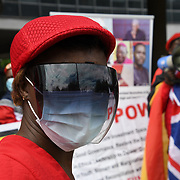 Uganda protests against billion dollar IMF loan to finance dictator Museveni in London