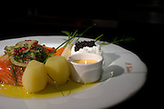 One dish of the São Giao Restaurant, The S Giao is one of the best restaurant in the area of Guimarães.