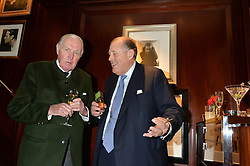 Left to right, LORD PATRICK BERESFORD and DAVID KER at a party to celebrate the publication of 'A Designer's Life' by Nicky Haslam held at Ralph Lauren, 1 New Bond Street, London on 19th November 2014.