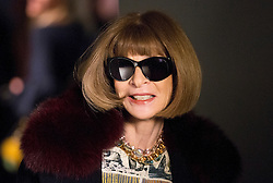 Anna Wintour attending the Burberry London Fashion Week Show at Makers House, Manette Street, London. PRESS ASSOCIATION. Picture date: Monday February 21, 2017. Photo credit should read: Isabel Infantes/PA Wire