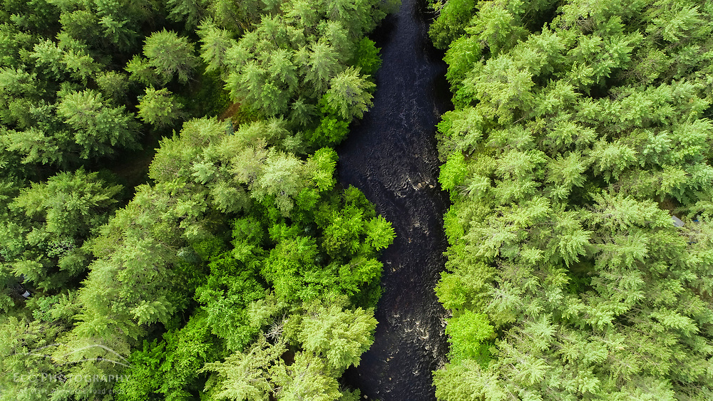The Crooked River in Otisfield, Maine.