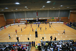 Arena at finals of Slovenian volleyball cup between OK ACH Volley and OK Salonit Anhovo Kanal, on December 27, 2008, in Nova Gorica, Slovenia. ACH Volley won 3:2.(Photo by Vid Ponikvar / SportIda).
