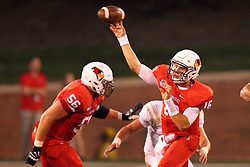 03 September 2016:  Jake Kolbe. NCAA FCS Football game between Valparaiso Crusaders and Illinois State Redbirds at Hancock Stadium in Normal IL (Photo by Alan Look)