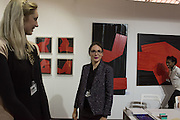 MONIKA Bialkowska; ELENA SHCHUKINA; JACQUELINE HARVEY, London Art Fair, Business Design Centre, Upper St. Islington. 19 January 2015