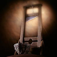 The dreaded Doctor Guillotine Device.