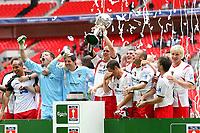 Stevenage Borough vs York City <br /> Carlsberg FA Trophy Final at Wembley Stadium 2/05/2009<br /> Credit Colorsport / Shaun Boggust