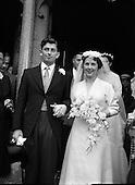 Wedding - Crosbie - Griffin  at St Joseph's Glasthule