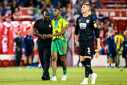 West Bromwich Albion Darren Moore talks to Tosin Adarabioyo of West Bromwich Albion - Mandatory by-line: Robbie Stephenson/JMP - 07/08/2018 - FOOTBALL - The City Ground - Nottingham, England - Nottingham Forest v West Bromwich Albion - Sky Bet Championship
