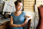 Kate Cusack,costume designer and artist. Photographed for The Interesting People Project
