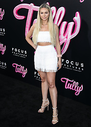 LOS ANGELES, CA, USA - APRIL 18: Los Angeles Premiere Of Focus Features' 'Tully' held at Regal Cinema L.A. Live Stadium 14 on April 18, 2018 in Los Angeles, California, United States. 18 Apr 2018 Pictured: Corinne Olympios. Photo credit: Xavier Collin/Image Press Agency / MEGA TheMegaAgency.com +1 888 505 6342