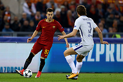 October 31, 2017 - Rome, Italy - Stephan El Shaarawy of Roma  during the UEFA Champions League football match AS Roma vs Chelsea on October 31, 2017 at the Olympic Stadium in Rome. (Credit Image: © Matteo Ciambelli/NurPhoto via ZUMA Press)