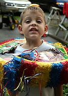 Raymond Bushey's birthday party. He's 4...Sept. 11, 2004...Salisbury Mills 9/11/04