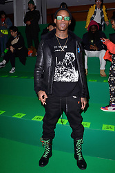 Octavian attending the Off-White Menswear Fall/Winter 2019-2020 show as part of Paris Fashion Week in Paris, France on January 16, 2019. Photo by Aurore Marechal/ABACAPRESS.COM
