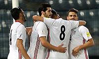 Fifa World Cup Russia 2018 Friendly Matchs / <br /> Iran vs Panama 2-1 ,Merkur Arena Graz (Aut) / <br /> Iran Players celebrates during the match