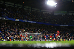 20 September 2017 -  EFL Cup (Third round) - Chelsea v Nottingham Forest - A general view (GV) of the Matthew Harding stand with play underway late in the 2nd half - Photo: Marc Atkins/Offside