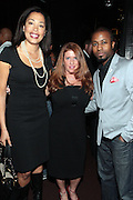 7 March 2011- New York, NY- l to r: Keija Minor, Andrea Hoffman, and Torian Robinson at the Power of Urban Presentation and Reception hosted by Magic Johnson and Yucaipa and held at the Empire Penthouse on March 7, 2011 in New York City. Photo Credit: Terrence Jennings/Photo Credit: Terrence Jennings for Uptown Magazine