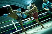 Muay Thai fighting in Chiang Mai, Thailand. PHOTO TIAGO MIRANDA