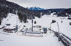 30.01.2019, Seefeld, AUT, FIS Weltmeisterschaften Ski Nordisch, Seefeld 2019, im Bild Tribünen // grandstands before the FIS Nordic Ski World Championships Seefeld 2019 in Seefeld, Austria on 2019/01/30. EXPA Pictures © 2019, PhotoCredit: EXPA/ JFK