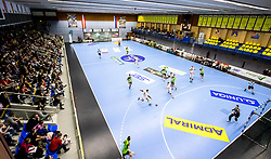 18.03.2018, BSFZ Suedstadt, Maria Enzersdorf, AUT, HLA, SG INSIGNIS Handball WESTWIEN vs HC FIVERS WAT Margareten, Bonus-Runde, 6. Runde, im Bild die Halle // during Handball League Austria, Bonus-Runde, 6 th round match between SG INSIGNIS Handball WESTWIEN and HC FIVERS WAT Margareten at the BSFZ Suedstadt, Maria Enzersdorf, Austria on 2018/03/18, EXPA Pictures © 2018, PhotoCredit: EXPA/ Sebastian Pucher