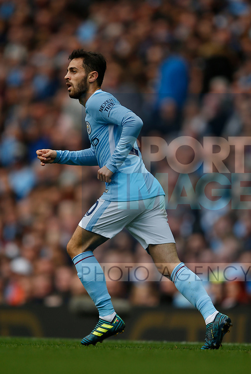 Bernardo Silva of Manchester City during the premier league match at the Etihad Stadium, Manchester. Picture date 22nd September 2017. Picture credit should read: Simon Bellis/Sportimage