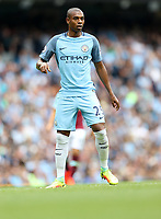 Football - Fernandinho of Manchester City during the match at the Etihad Stadium between Manchester City and West Ham United. <br /> <br /> 2016 / 2017 Premier League - Manchester City vs. West Ham United<br /> <br /> -- at The Etihad Stadium.<br /> <br /> COLORSPORT/LYNNE CAMERON