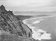 9969-1279. View southward toward Manzanita from Neahkahnie Mountain. October 15, 1933.
