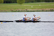 Race: 45  W Challenge 2x  Final<br /> <br /> Wallingford Regatta 2018<br /> <br /> To purchase this photo, or to see pricing information for Prints and Downloads, click the blue 'Add to Cart' button at the top-right of the page.