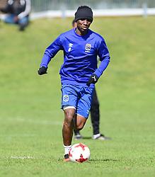 Cape Town-180823- Cape Town City player  Teko Modise at training preparing for their up comingMTN 8 semi-final against Sundowns at Cape Town Stadum.Photographer :Phando Jikelo/African News Agency/ANA