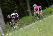 Fabio Aru (ITA - UAE Team Emirates) - Simon Yates (GBR - Mitchelton - Scott) during the 101th Tour of Italy, Giro d'Italia 2018, stage 10, Penne - Gualdo Tadino 239 km on May 15, 2018 in Italy - Photo Roberto Bettini / BettiniPhoto / ProSportsImages / DPPI