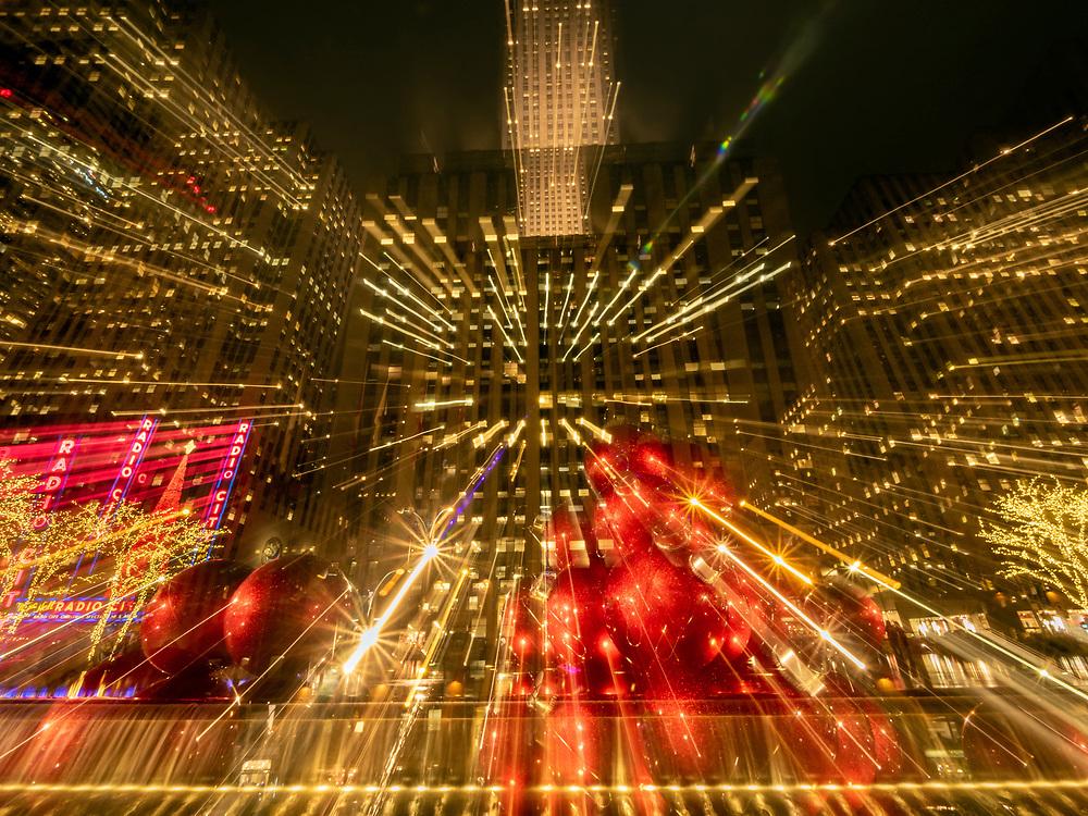Radio City Hall at Christmas, NYC