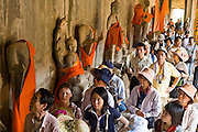 19 MARCH 2006 - SIEM REAP, SIEM REAP, CAMBODIA: Korean tourist walk through the main Angkor Wat complex near Siem Reap, Cambodia. Cambodian authorities estimate that more than one million tourists will visit Angkor Wat in 2006, making it the leading tourist attraction in Cambodia by a large margin.   Photo by Jack Kurtz / ZUMA Press