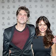 NLD/Rotterdam/20180124 - Openingsfilm IFFR 2018, premiere Jimmy, Daniel Boissevain en partner Vanessa Henneman