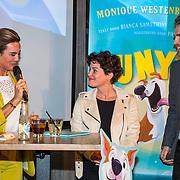 NLD/Berkel en Rodernrijs/20190311 - Boekpresentatie Dunya, een Hemels Hondenleven van Monique Westenberg, met Bianca Samanthuni en Paco Vink