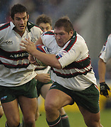 Darren Morris, running with ball.Twickenham, Surrey,Great Britain, 16th October 2004, Zurich Premiership Rugby, Harlequins vs Leicester Tigers, Twickenham Stoop,   [Mandatory Credit Peter Spurrier/Intersport Images]