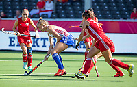ANTWERP - BELFIUS EUROHOCKEY Championship.  women  England v Belarus (4-3) . Isabelle Petter (Eng)  WSP/ KOEN SUYK