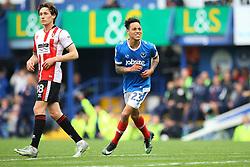 Goal, Kyle Bennett of Portsmouth scores, Portsmouth 2-0 Cheltenham Town - Mandatory by-line: Jason Brown/JMP - 06/05/2017 - FOOTBALL - Fratton Park - Portsmouth, England - Portsmouth v Cheltenham Town - Sky Bet League Two