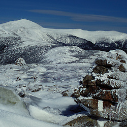 Mt. Washington Appalachian Trail The AT in winter in the White Mountains' Presidential Range.  Mt. Clinton, NH